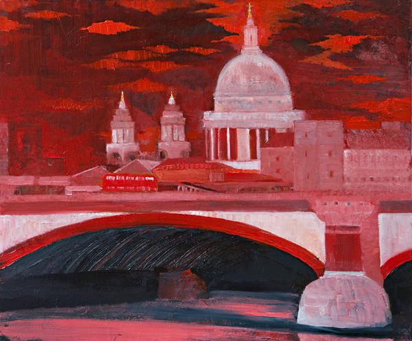 London 3 by Dan Schlesinger