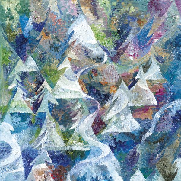 Snow- 1 by Dan Schlesinger