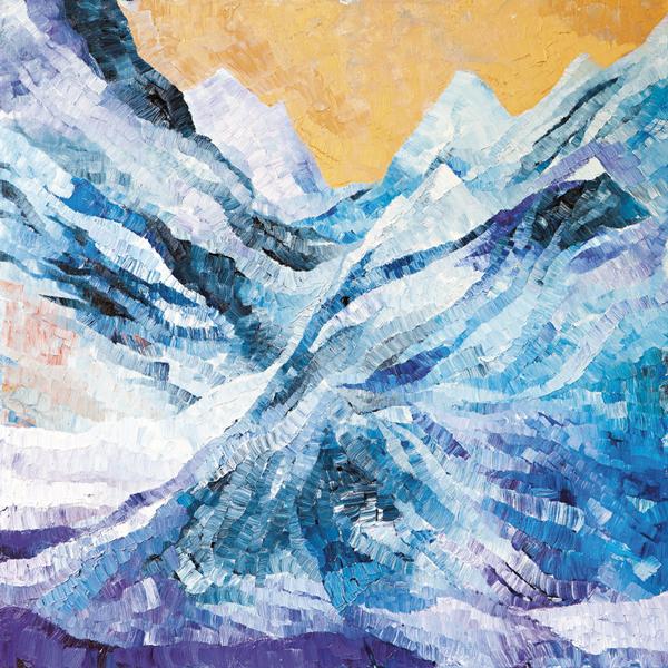 Snow 3 by Dan Schlesinger