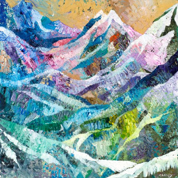 Snow 4 by Dan Schlesinger