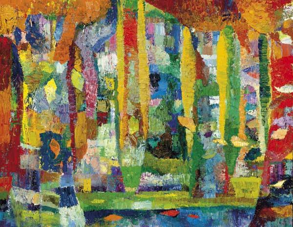 Trees 2 by Dan Schlesinger