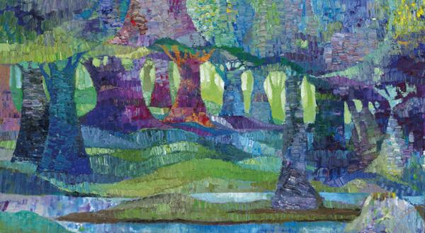 Trees 4 by Dan Schlesinger