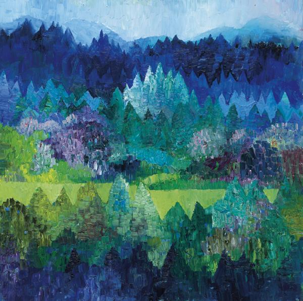 Trees 5 by Dan Schlesinger