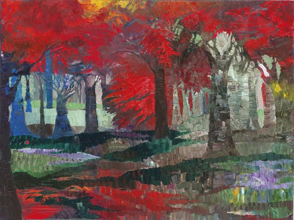 Trees 6 by Dan Schlesinger