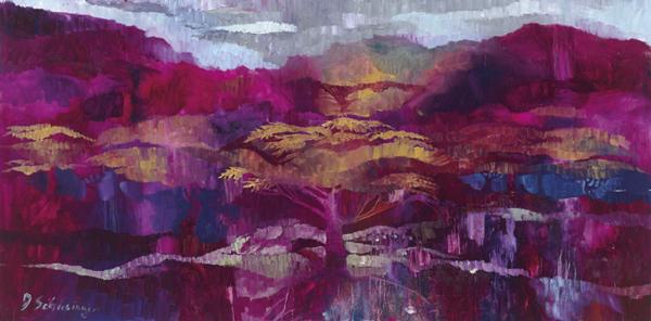 Trees 8 by Dan Schlesinger