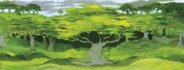 Trees 9 by Dan Schlesinger