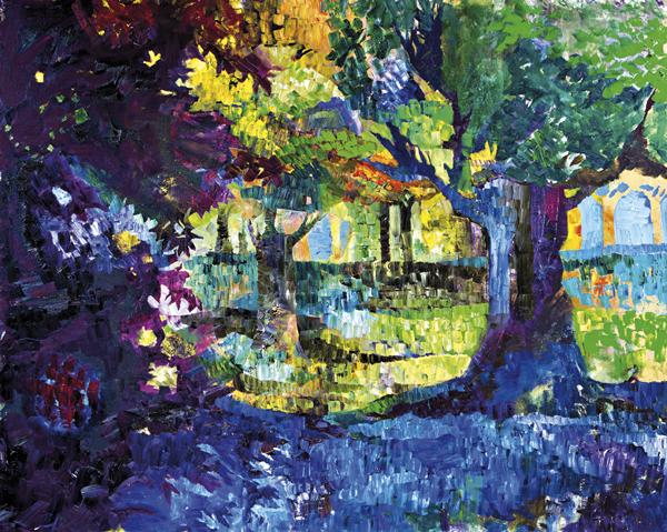 Trees 12 by Dan Schlesinger
