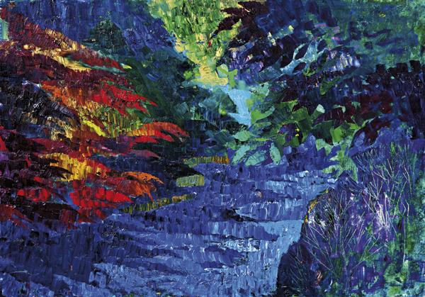 Trees 13 by Dan Schlesinger