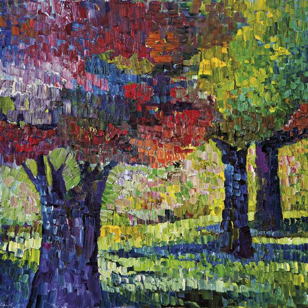 Trees 14 by Dan Schlesinger