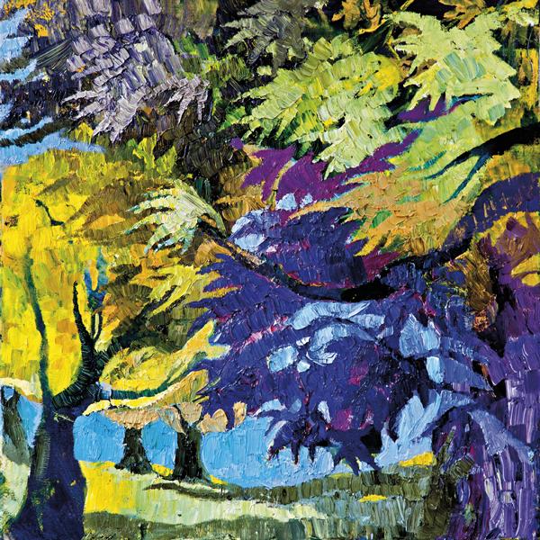 Trees 15 by Dan Schlesinger