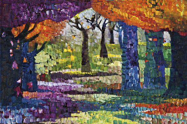 Trees 16 by Dan Schlesinger