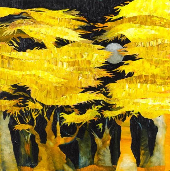 Trees 17 by Dan Schlesinger