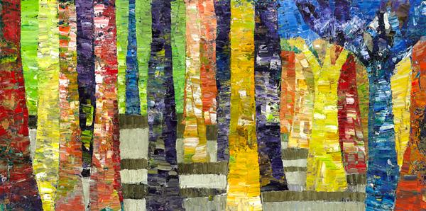 Trees 18 by Dan Schlesinger