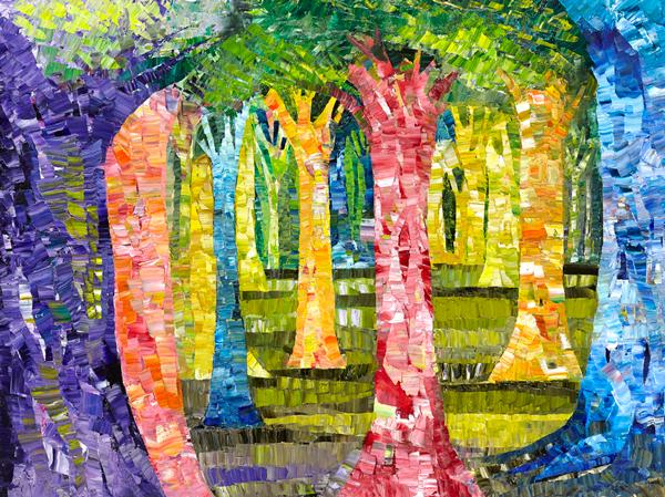 Trees 19 by Dan Schlesinger