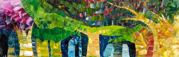 Trees 20 by Dan Schlesinger