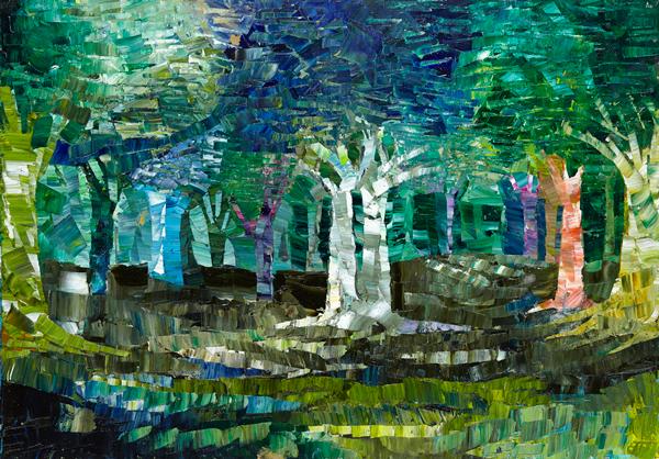 Trees 21 by Dan Schlesinger