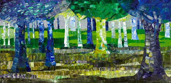 Trees 23 by Dan Schlesinger