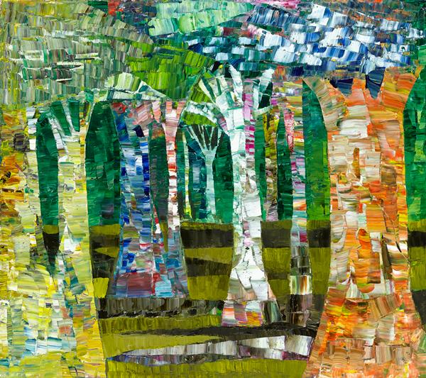 Trees 24 by Dan Schlesinger