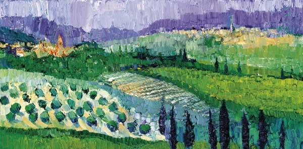 Tuscany 3 by Dan Schlesinger