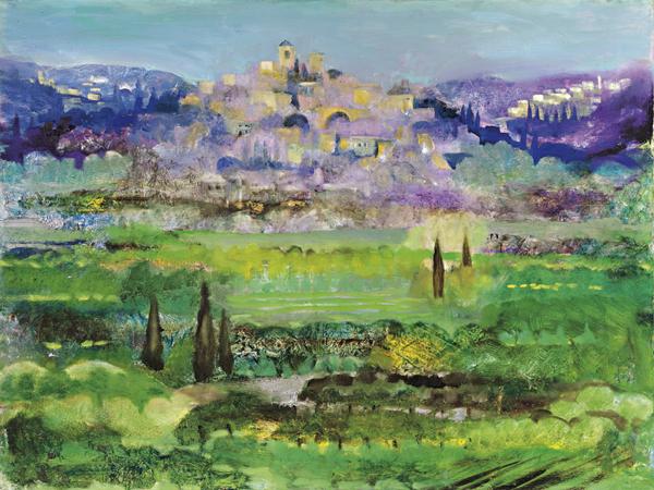 Tuscany 4 by Dan Schlesinger