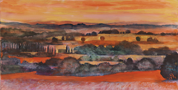 Tuscany 5 by Dan Schlesinger