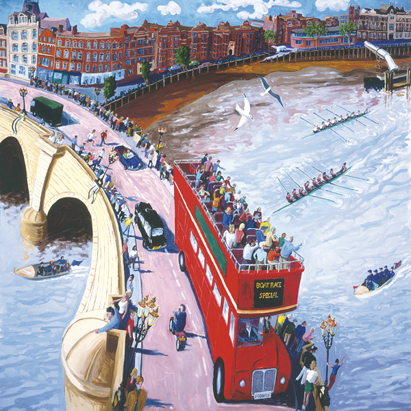 Boat Race by Francis Farmar