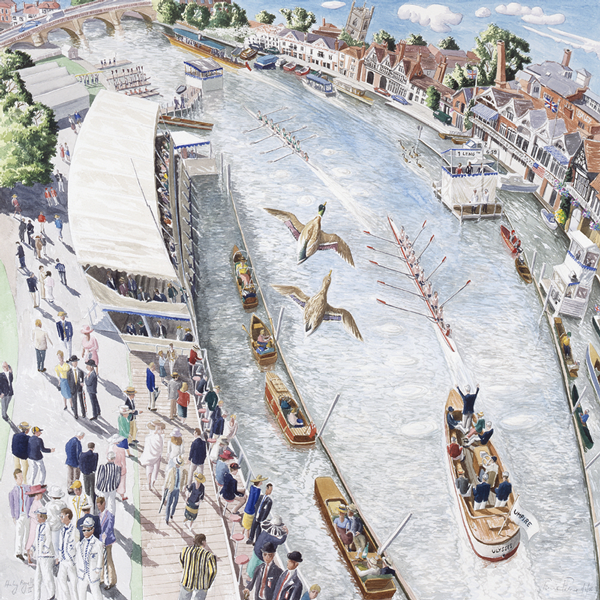 Henley Regatta by Francis Farmar