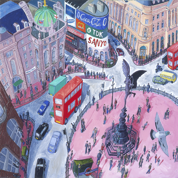 Piccadilly Circus by Francis Farmar